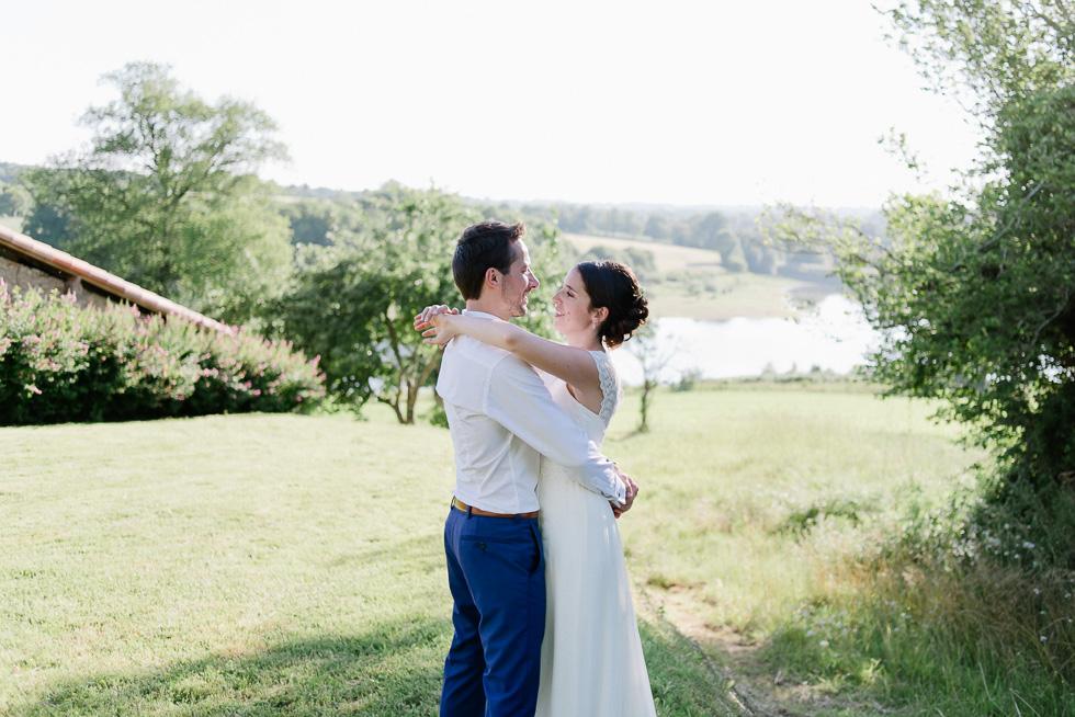 mariage au hameau du Cruzeau
