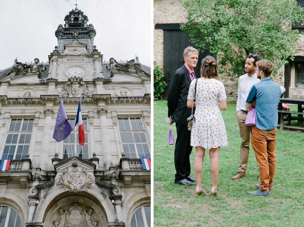 Cérémonie laïque au Vieux Château